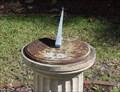 Image for Leak-Wall House Sundial, Rockingham, NC, USA