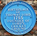 Image for Thomas Lord, Thirsk Museum, Kirkgate, Thirk, N Yorks, UK