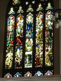 Image for St Davids Cathederal - Stained Glass - Cardiff, Wales, Great Britain.