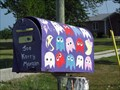 Image for Pac-man Painted Mailbox - Essex, Ontario