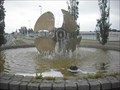 Image for Ship propeller fountain in a roundabout, Frederikshavn - Denmark