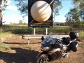 Image for World's Largest Virtual Solar System Drive - Saturn - Camkeena Rest Area, NSW, Australia
