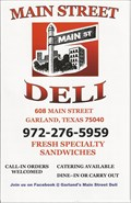Image for Main St. Deli -- Garland TX