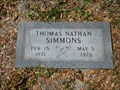 Image for Thomas Nathan Simmons - Jacksonville, FL
