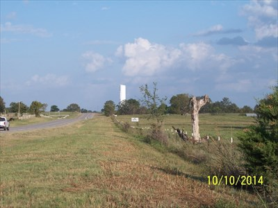 Choctaw County RWD 6, by MountainWoods.  Looking east from about 1/4 mile away.