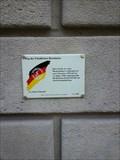 "Image for Plaque on the catholic church """"St. Johann Nepomuk"" - Zwickau/ Saxony/ Germany"