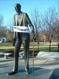 Image for Robert Pershing Wadlow - World's Tallest Man - Alton, Illinois