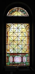 Image for Colorful Window - First Christian Church, New London, MO - USA