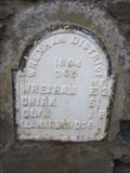 Image for Mile Stone, Bridge, Dolywern, B4500, Wrexham, Wales, UK