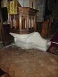 Image for Pulpit Base, St Michael's, Salwarpe, Worcestershire, England