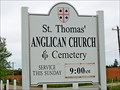 Image for St. Thomas' Anglican Church Cemetery - Spring Brook, PEI
