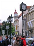 Image for Rytirska Street Free Standing Clock, Prague, Czech Republic