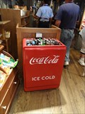 Image for Coca Cola Cooler- Cracker Barrel- Elizabethtown, KY