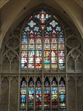 Image for Stained Glass Windows at Onze-Lieve-Vrouwebasiliek (Tongern), Limburg - Belgium