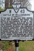 Image for Battle of Williamsburg