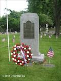 Image for Spanish-American War Memorial, Cambridge Cemetery - Cambridge, MA