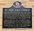 Image for St. Paul A.M.E. Church - Montgomery, AL