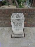 Image for A307 Milestone - Kew Road, Richmond, London, UK