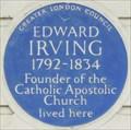 Image for Edward Irving - Claremont Square, London, UK
