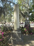 Image for Jacob Waldburg - Bonaventure Cemetery - Savannah, GA