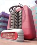 Image for Giant Jukebox - Pop Century Resort, Lake Buena Vista, Florida, USA