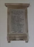 Image for Combined War Memorial, Church of St Mary the Virgin, Layer Marney, Essex. CO5 9UR.