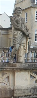 Image for Julius Caesar -- Roman Baths, Bath, Somerset, UK
