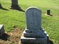 Image for Hoffman Headstone - City Cemetery - Hermann, MO