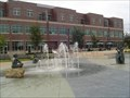 Image for Fountain at Bass Street Landing.