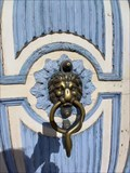 Image for Two lion door knockers - Gefrees, Germany
