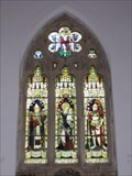 Image for East Window - St Mary's Church, Aldworth, Berkshire, UK