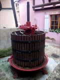 Image for Grape Press (Wine), Eguisheim, Haut-Rhin/FR