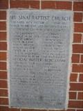 Image for 1967 - Mt Sinai Baptist Church - Bogart, GA
