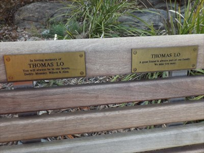 The double plaques for Thomas.1655, Saturday, 1 September, 2018