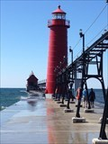 Image for Grand Haven Lighthouses - Grand Haven, Michigan