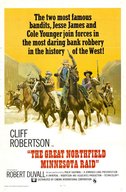 The Great Northfield Minnesota Raid movie