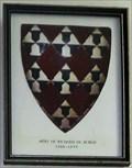 Image for Arms of Richard De Burgh - The Parish Church of St. John the Baptist, The Royal Chapel - St. John's, Isle of Man