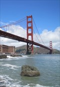 Image for Golden Gate Bridge from Fort Point - Sunday Strip - San Francisco, CA
