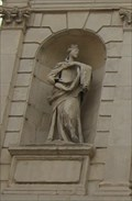 Image for Queen Anne of Denmark -- Temple Bar Gate, Paternoster Square, City of London, UK