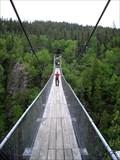 Image for Pont suspendu du Lac Lahaie - Abitibi, Qc, Canada