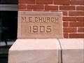 Image for 1905 - United Methodist Church, Fayette, Ohio, USA