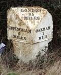 Image for Milestone - Uppingham Road, Oakham, Rutland, UK.
