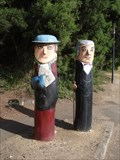 Image for Johan Raddenbury and Lady Bollards - Geelong Waterfront, Victoria, AU