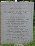 Image for SIR SAMUEL BENFIELD STEELE -- Medonte Township, Ontario