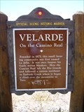 Image for Velarde – on the Camino Real