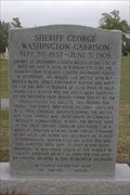 Image for Sheriff G. W. Garrison - Fairlawn Cemetery - Oklahoma City, Oklahoma USA