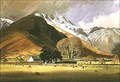 Image for Wall End Farm Langdale by William Heaton Cooper – Great Langdale, Cumbria, UK