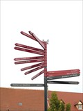 Image for Arrows at Rue du Marché, Neuf-Brisach - Alsace / France