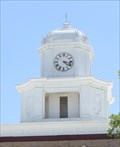 Image for San Saba County Courthouse Clock -- San Saba TX
