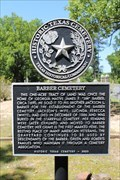 Image for Barber Cemetery